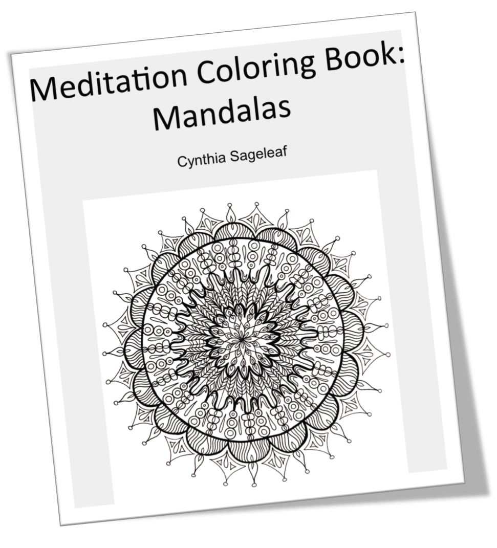 Coloring Meditation with Free Coloring Pages - Intuitive and ...