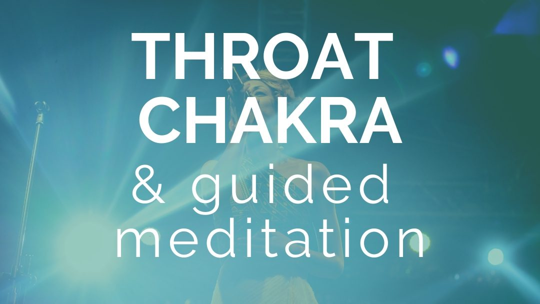 Find Your Voice - Throat Chakra Guided Meditation